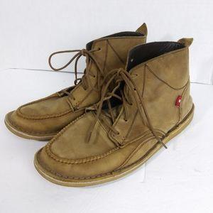 Oliberte Leather Lace Up Chukka Boot. Size 40